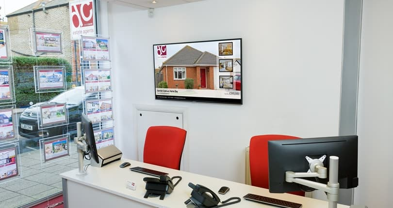 LCD Digital Displays Showing Your Home Night And Day 1