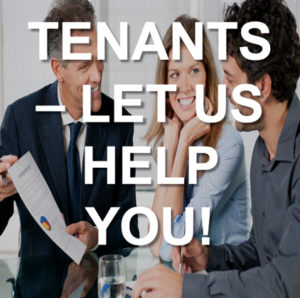 Tenants Let Us Help You
