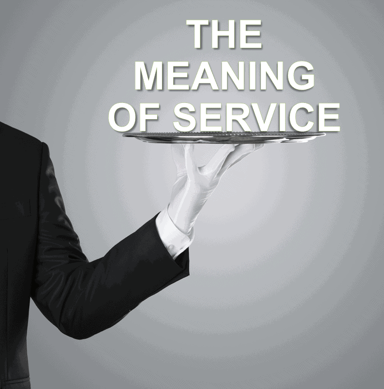 meaning of service