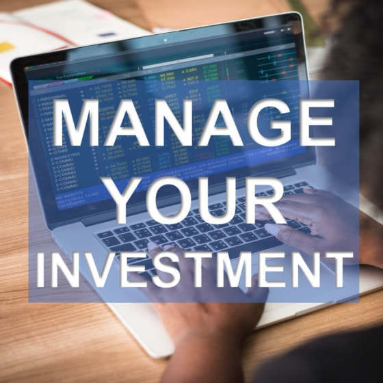Manage Your Investment
