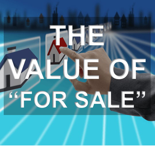 The Value of The For Sale